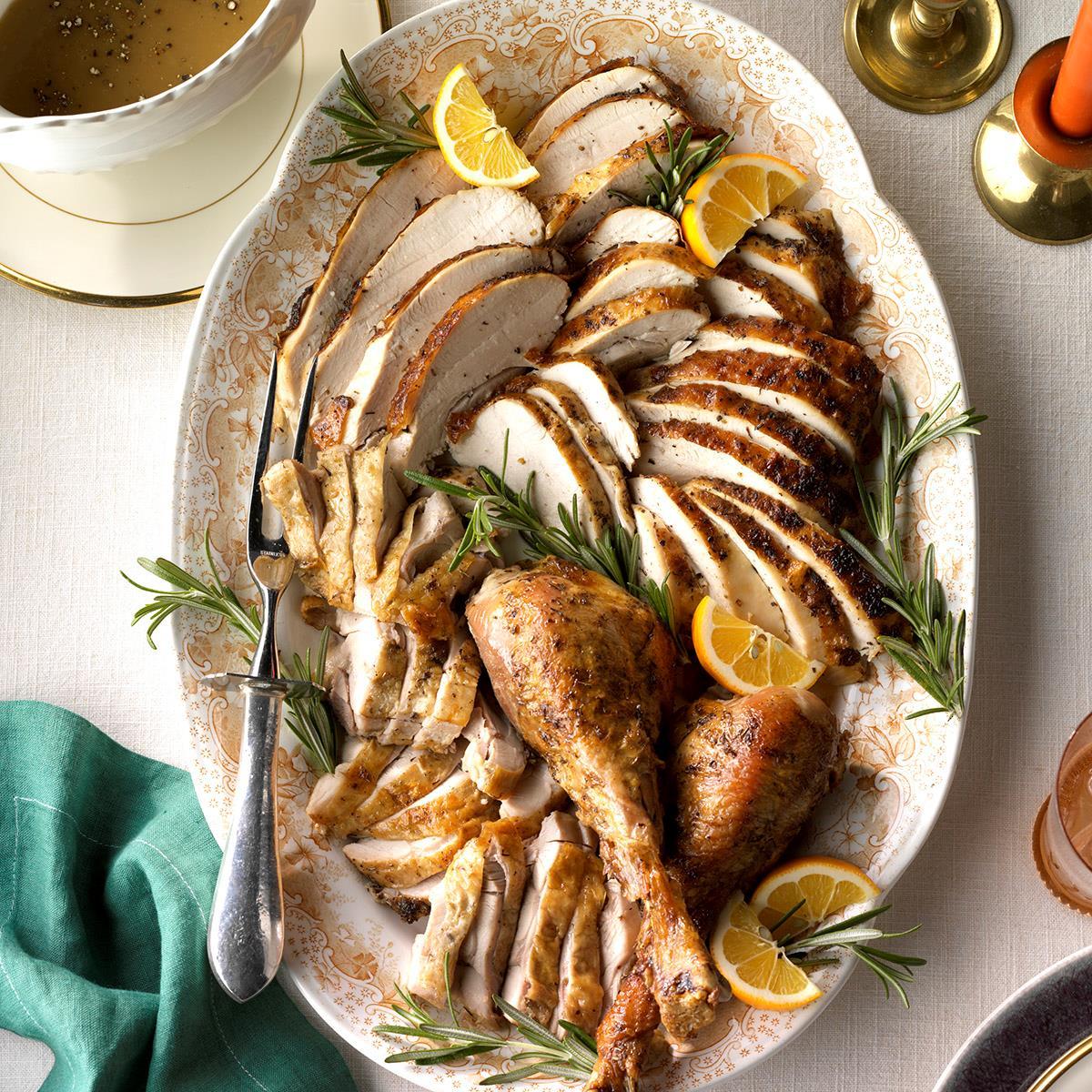 Roasted Citrus & Herb Turkey image