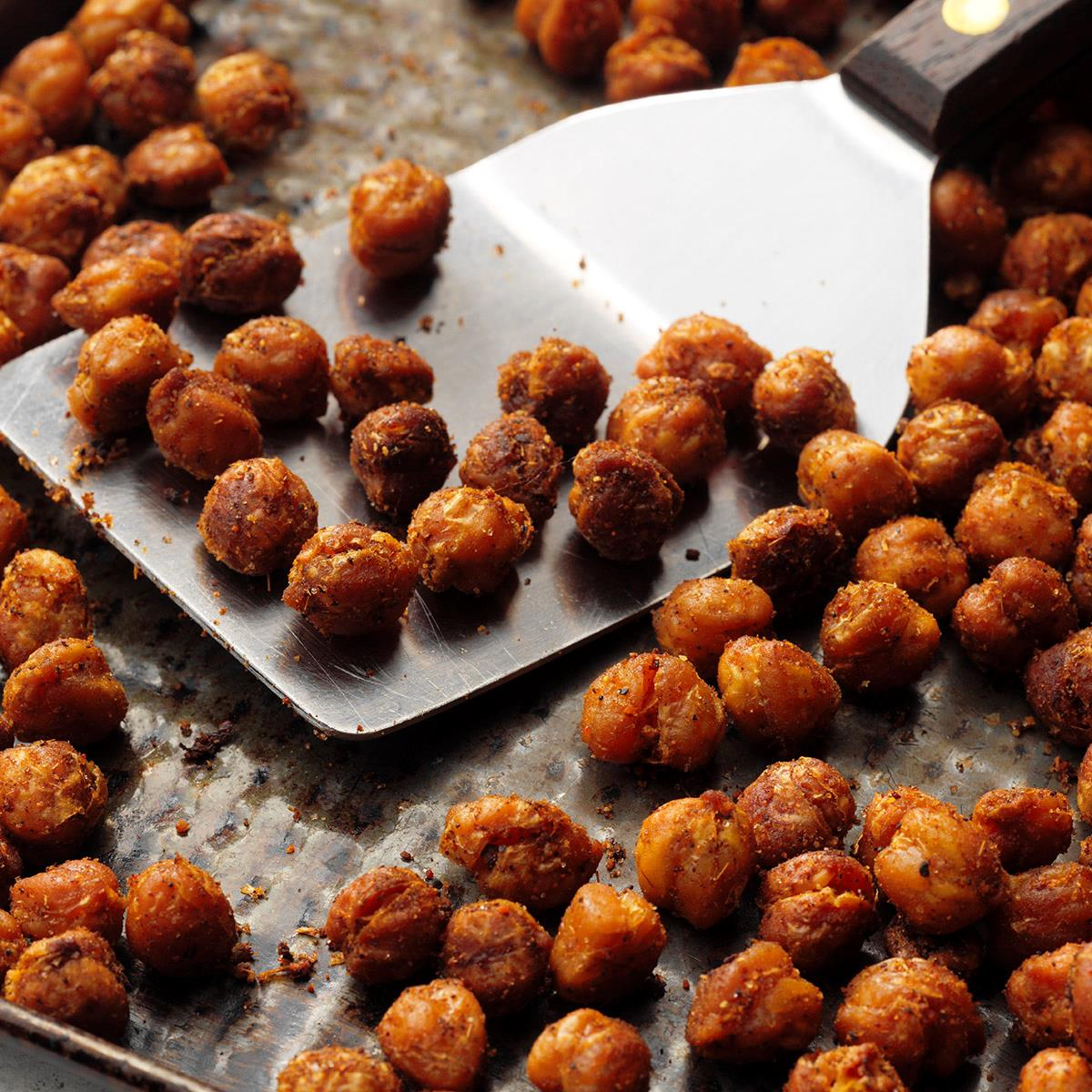 Roasted Curry Chickpeas image