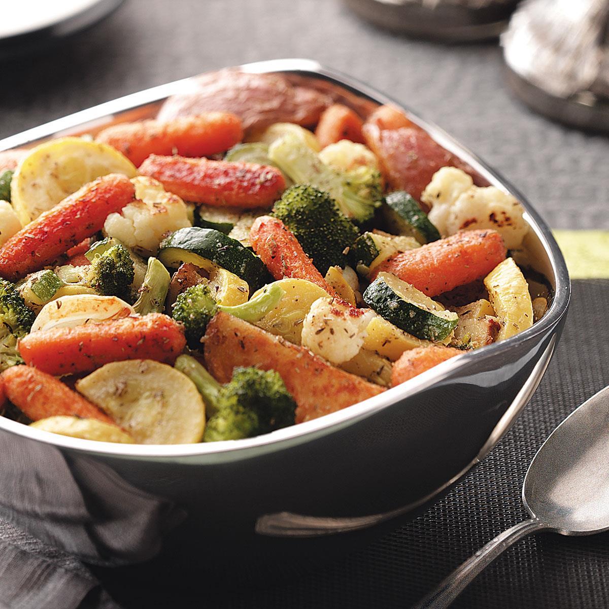 Roasted Harvest Vegetables image