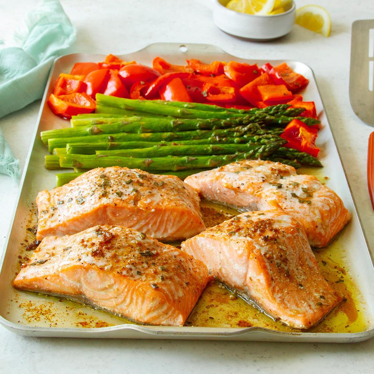 Rosemary Salmon and Veggies image
