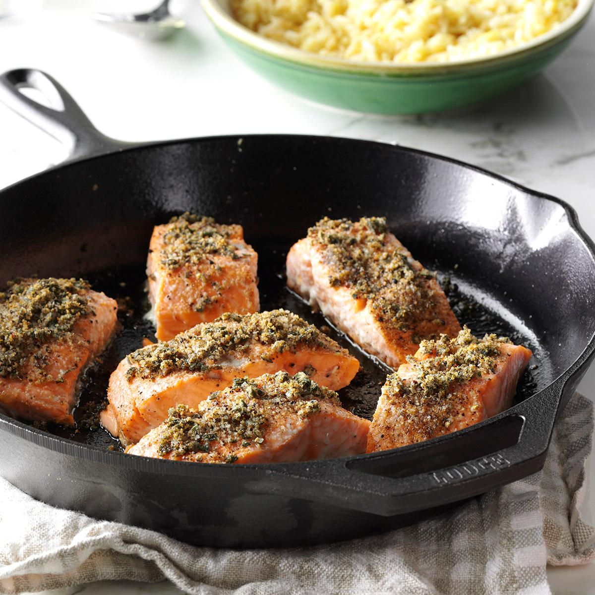 Sage-Rubbed Salmon image