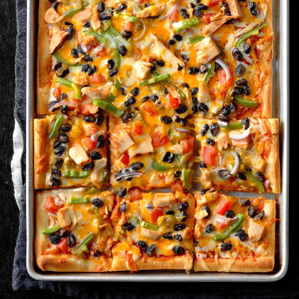 Santa Fe Chicken Pizza Pie Recipe Taste Of Home
