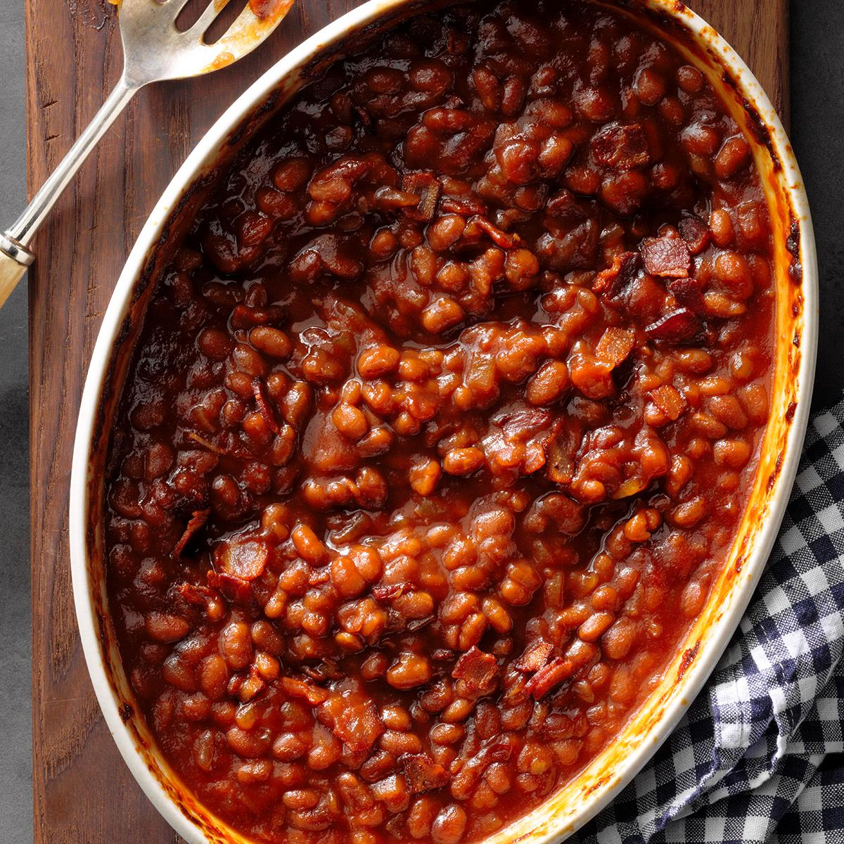 Easy Baked Beans Recipe How To Make It Taste Of Home