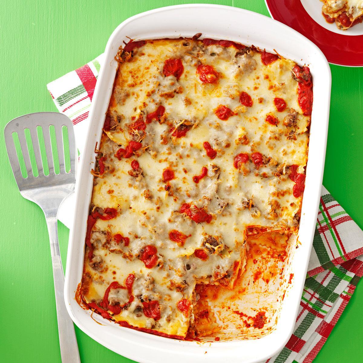Sausage Ravioli Lasagna image