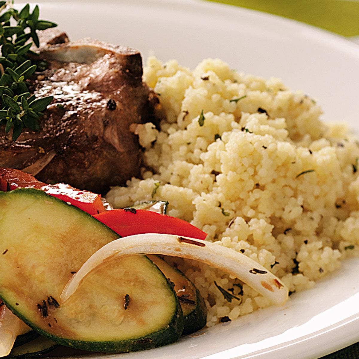 Seasoned Couscous image