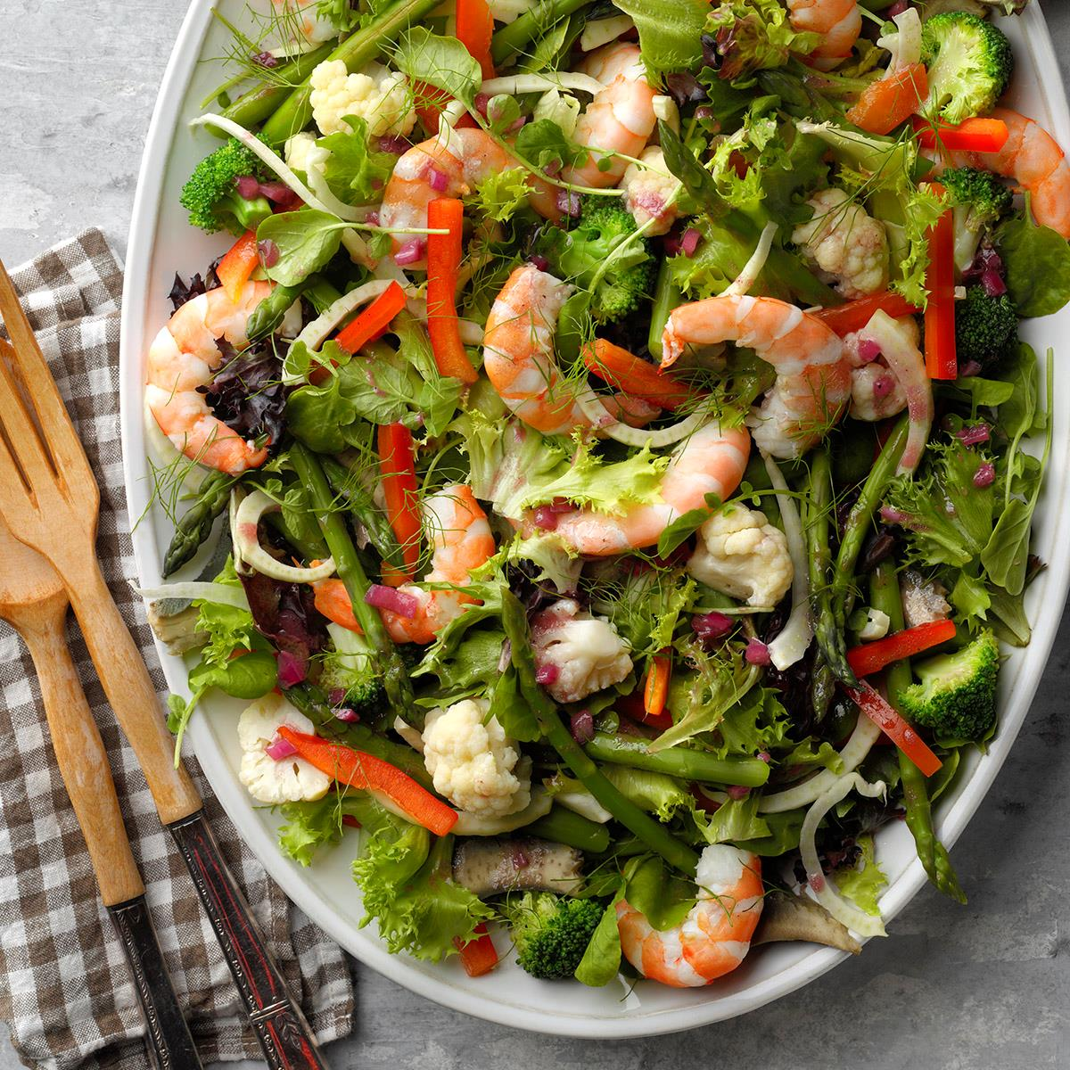 Recipe Shrimp Salad With Vinaigrette Dressing