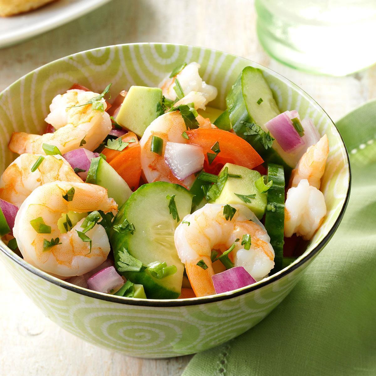 Salad Recipes With Shrimp