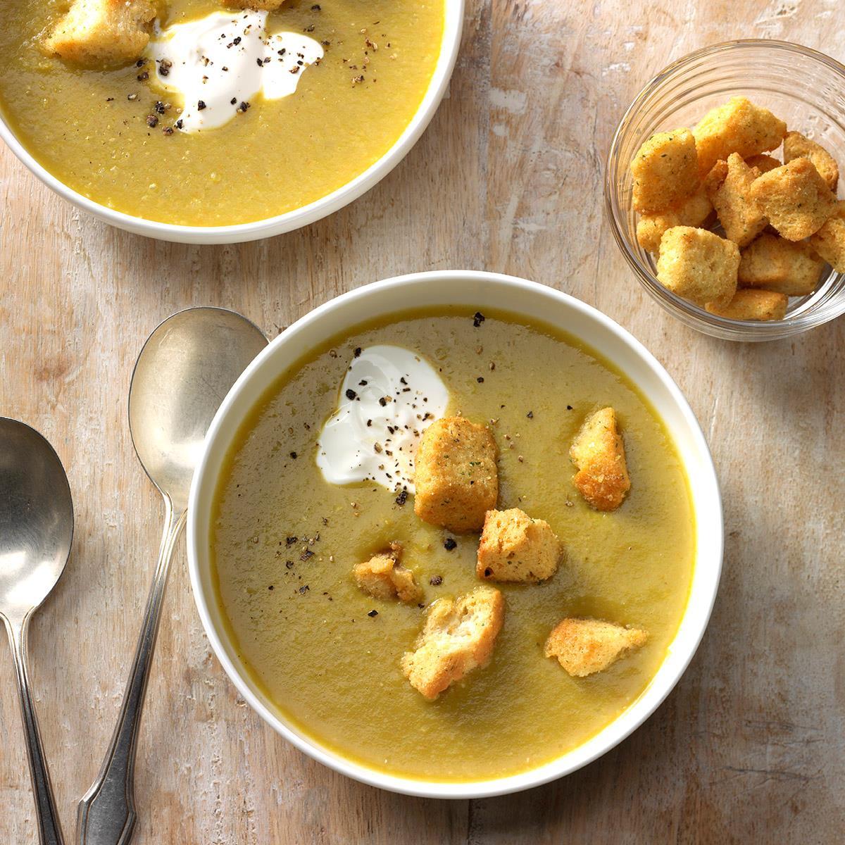 Simple Asparagus Soup image
