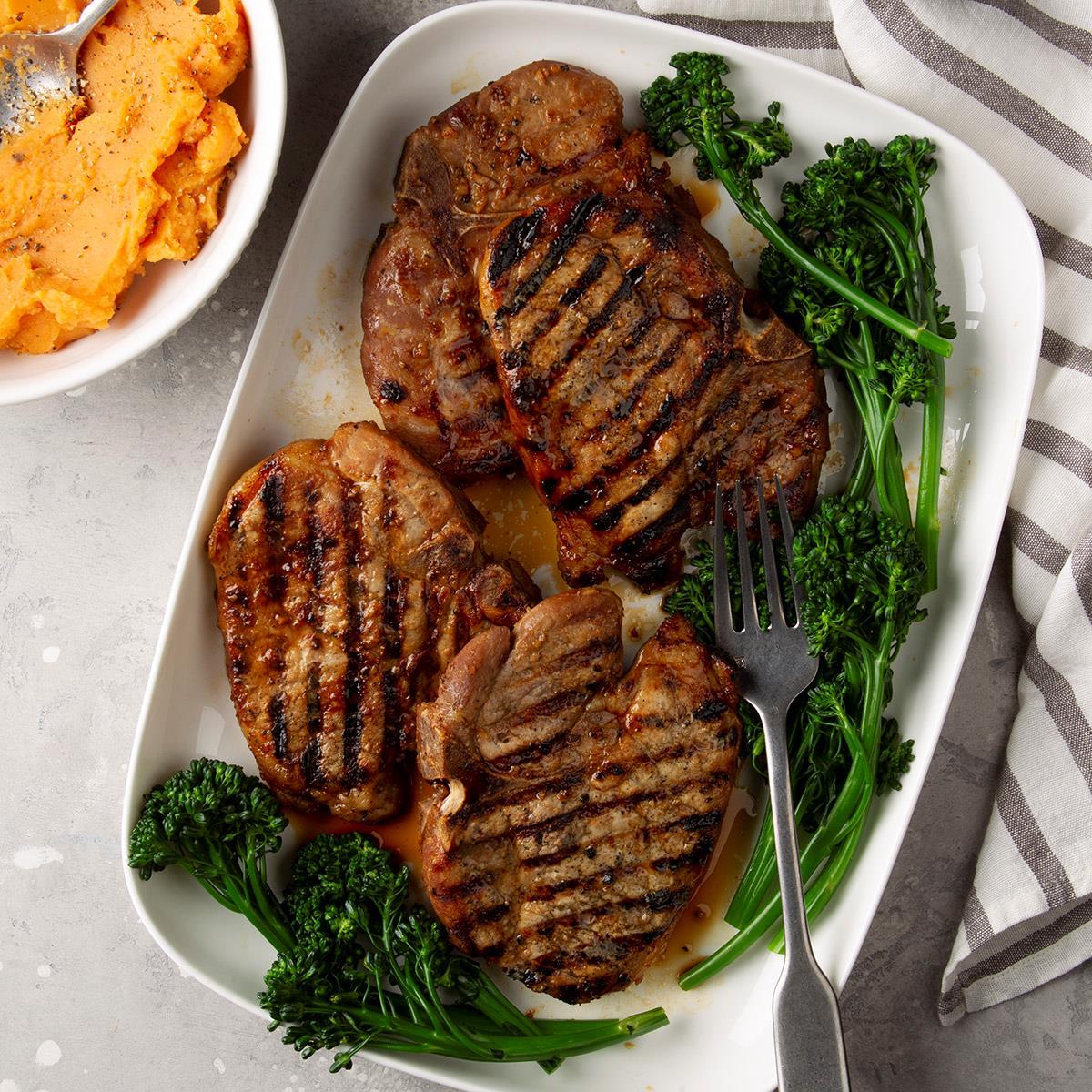 grilled pork chop recipe simple Simple Marinated Grilled Pork Chops