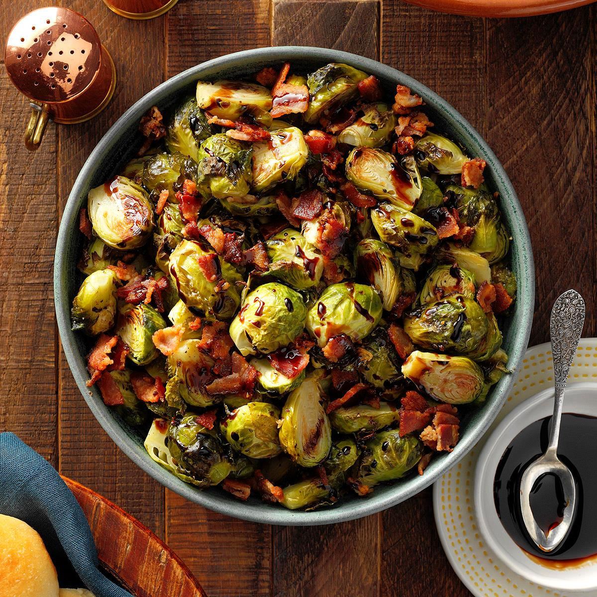 Roasted Brussels Sprouts with Bacon image