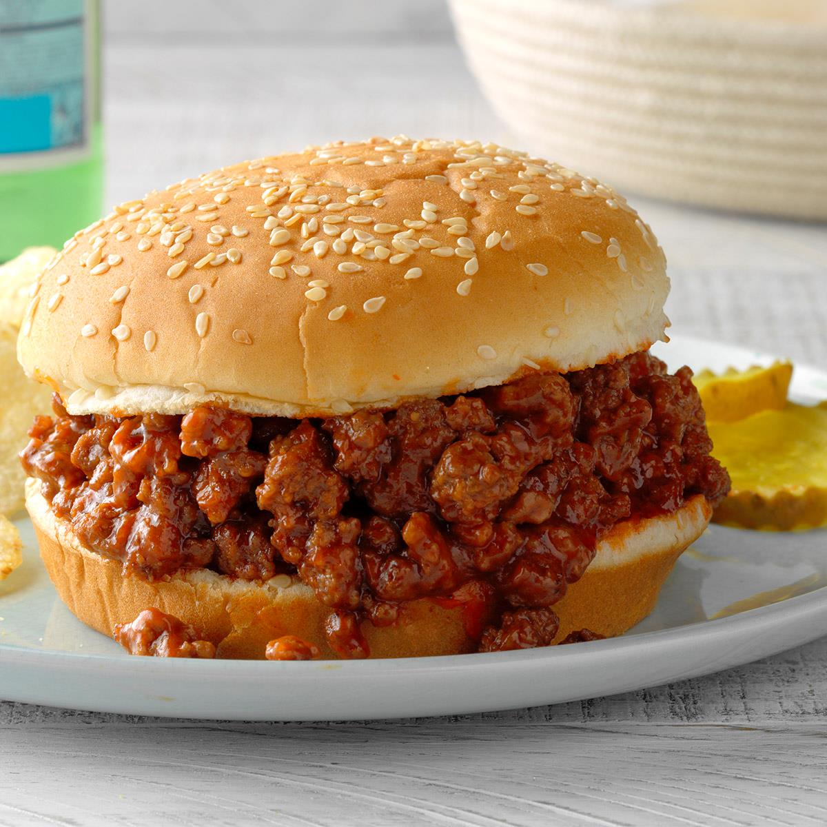 Sloppy Joes Sandwiches Recipe How To Make It Taste Of Home