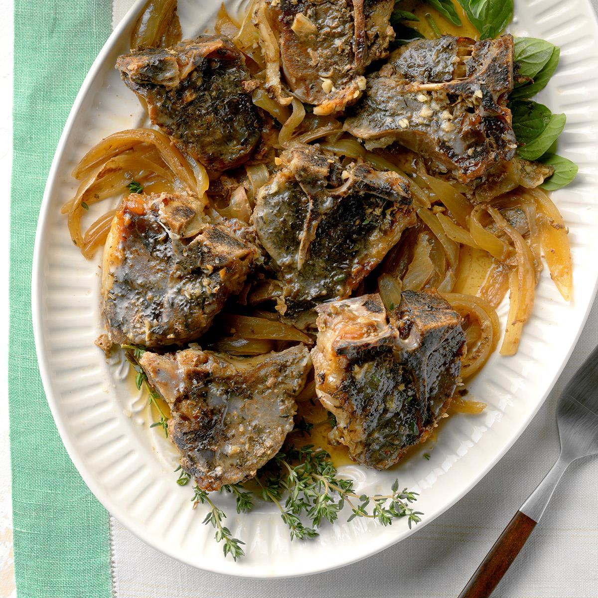 lamb chop recipe crock pot Slow-Cooked Lamb Chops