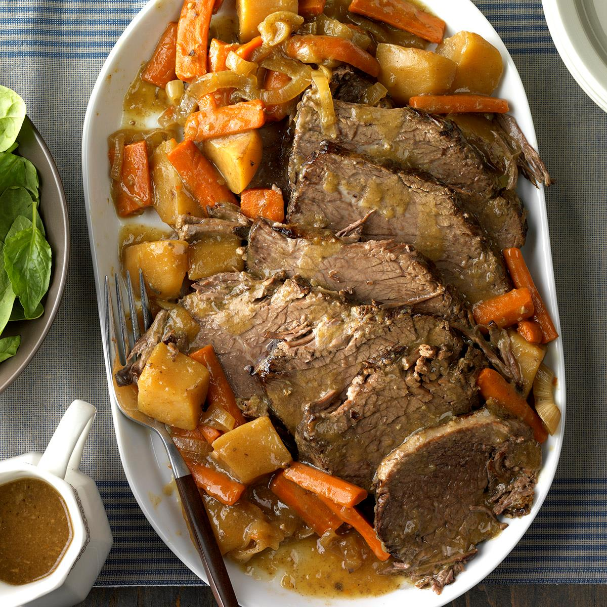 Slow Cooked Rump Roast Recipe How To Make It Taste Of Home