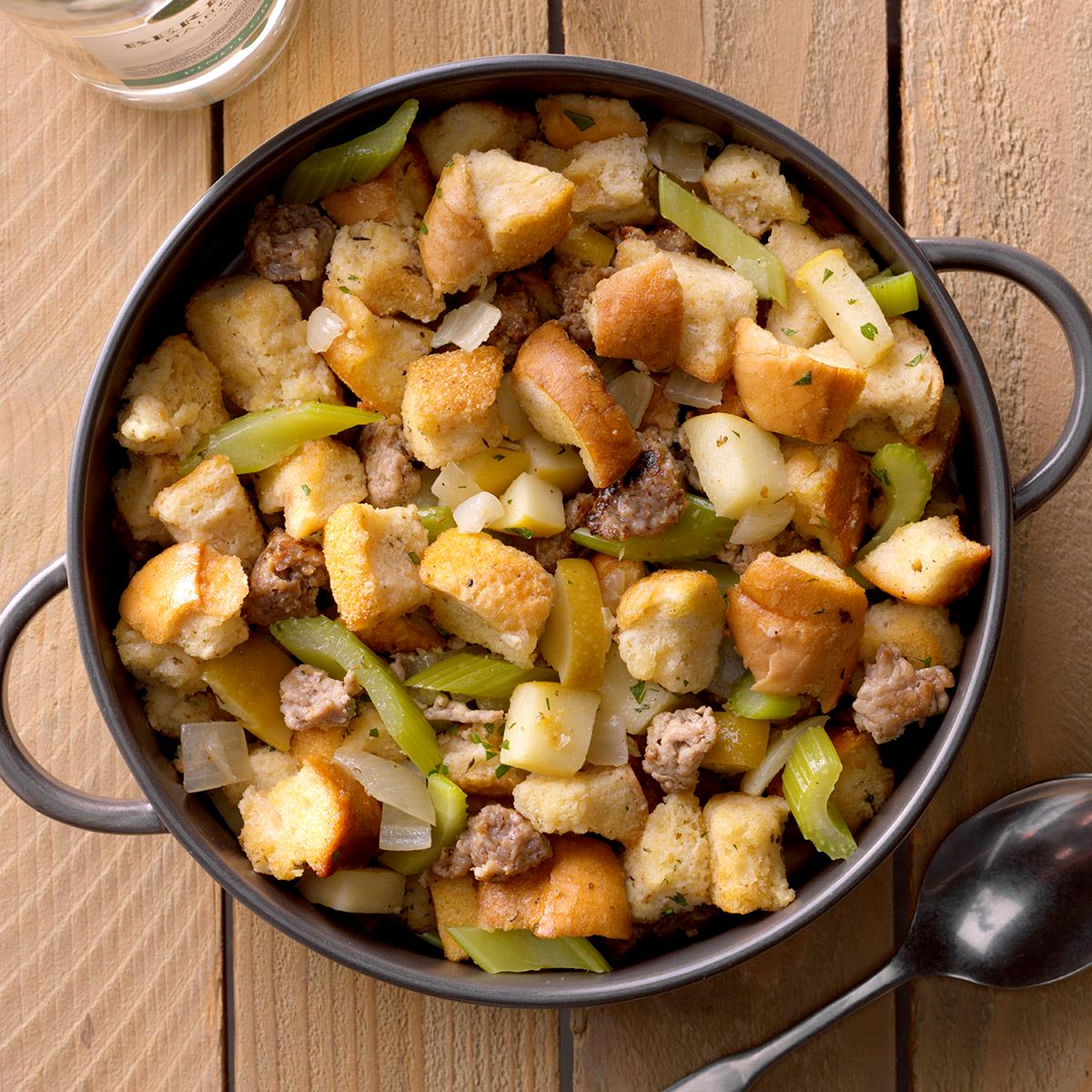 Slow-Cooked Sausage Dressing image