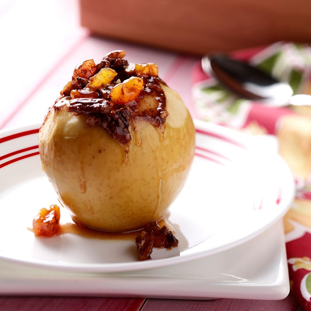 Slow-Cooked Stuffed Apples image