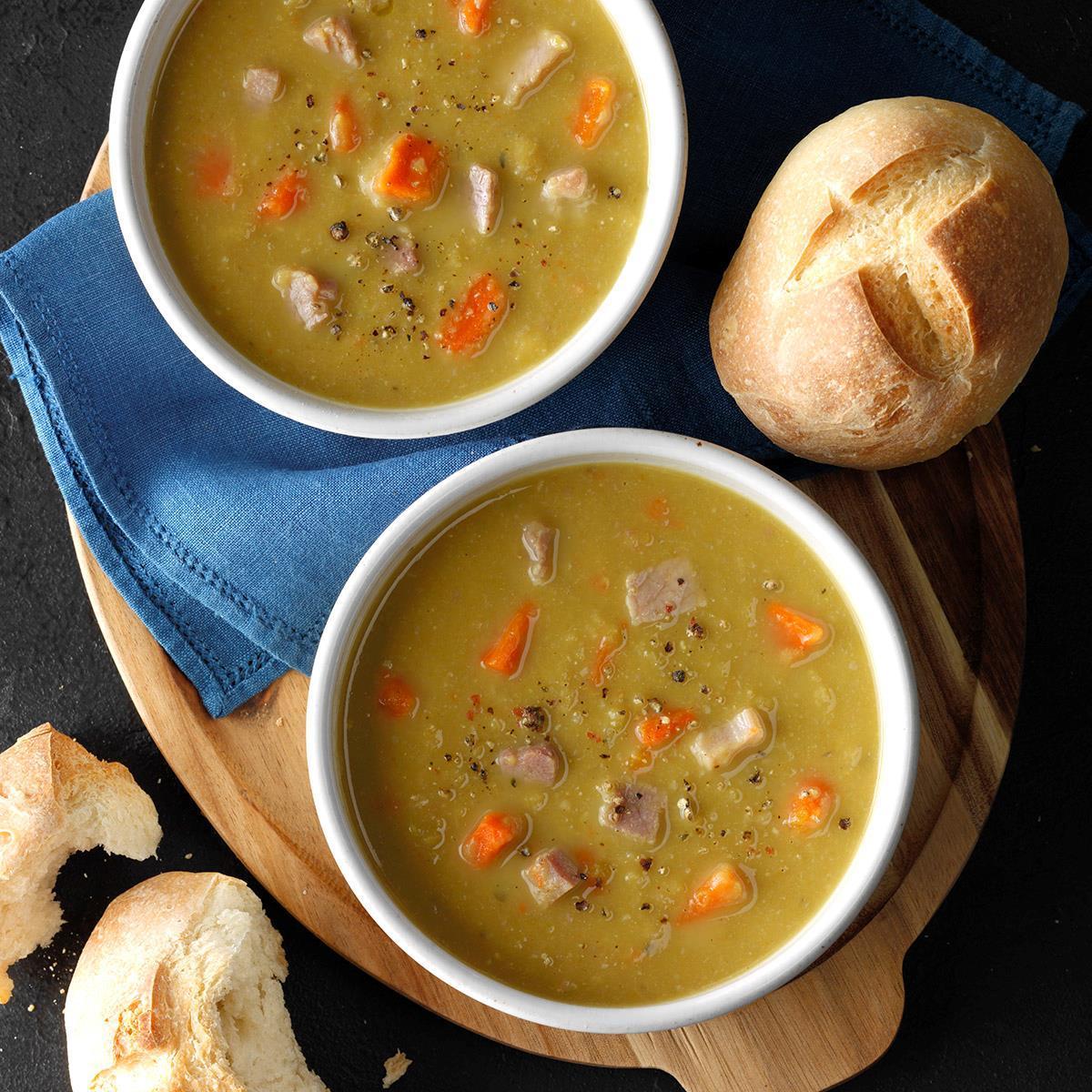 Slow-Cooker Split Pea Soup_image