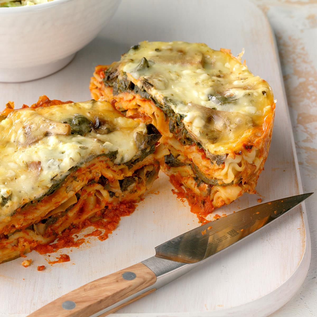 Slow Cooker Veggie Lasagna Recipe How To Make It Taste Of Home