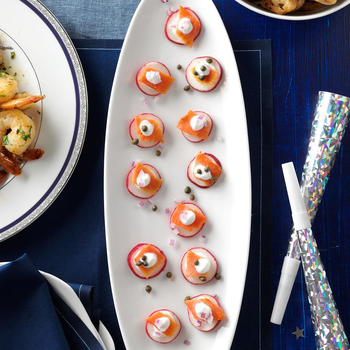 Smoked Salmon Bites Recipe How To Make It Taste Of Home