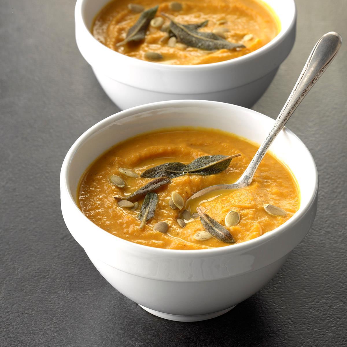 Smooth & Creamy Pumpkin Soup image