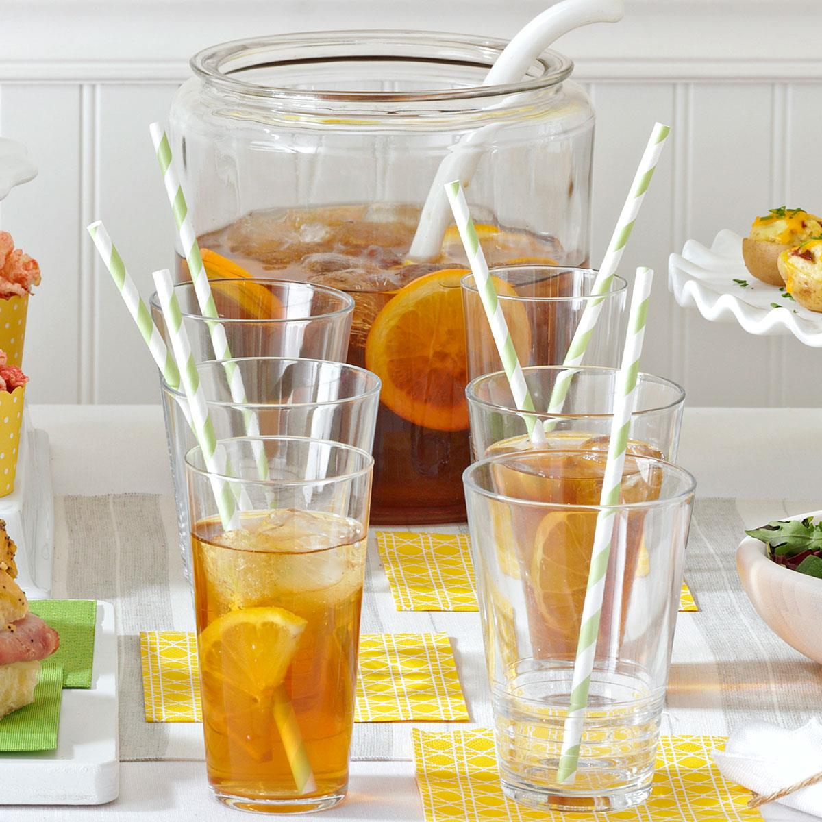 Smooth Sweet Tea Recipe How To Make It Taste Of Home