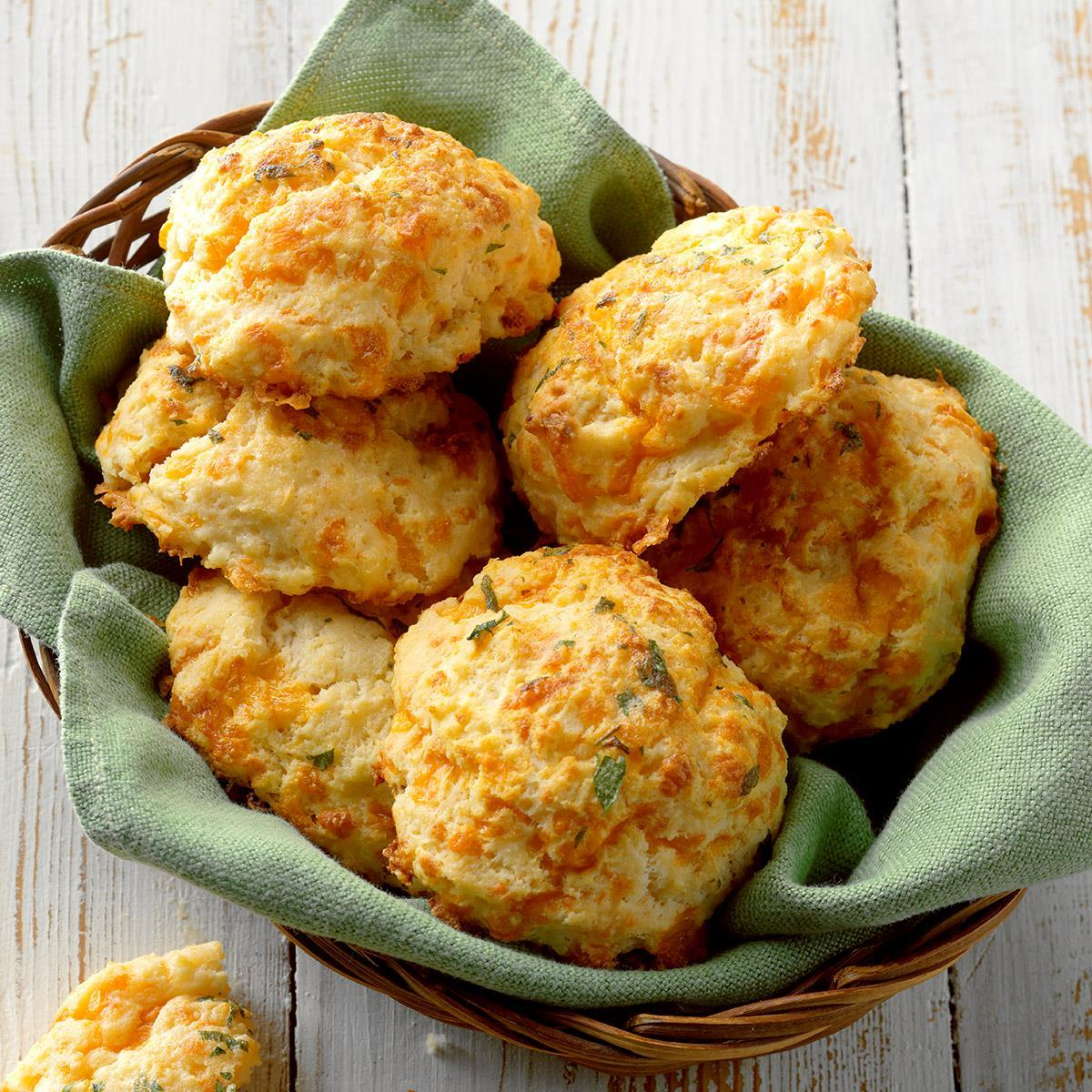 Sour Cream & Cheddar Biscuits image