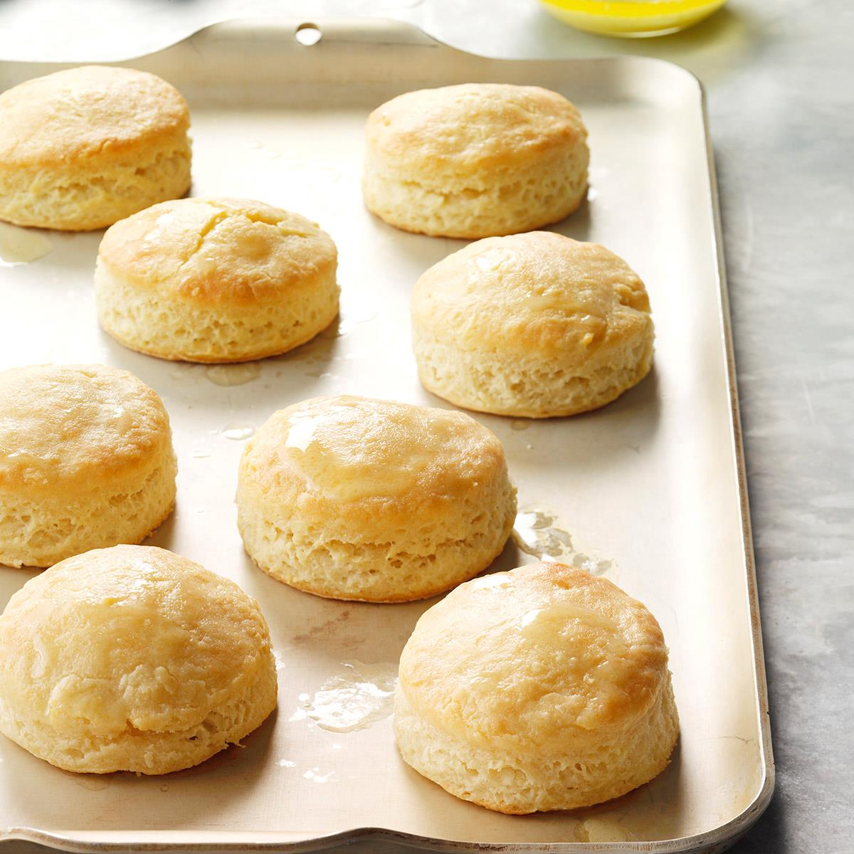 Southern Buttermilk Biscuits Recipe How To Make It Taste Of Home