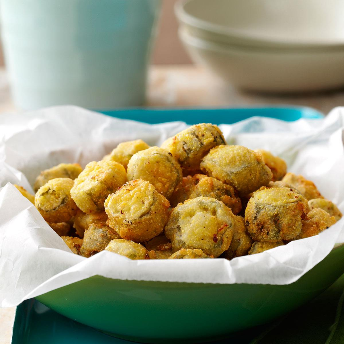 Southern Fried Okra Recipe How To Make It Taste Of Home