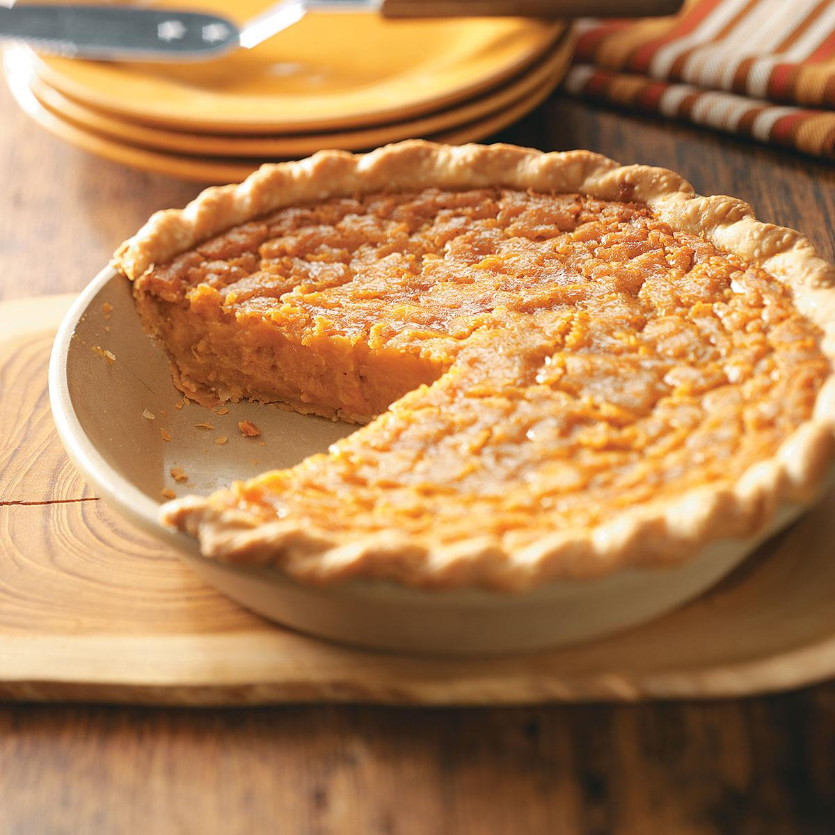 Southern Sweet Potato Pie Recipe How To Make It Taste Of Home