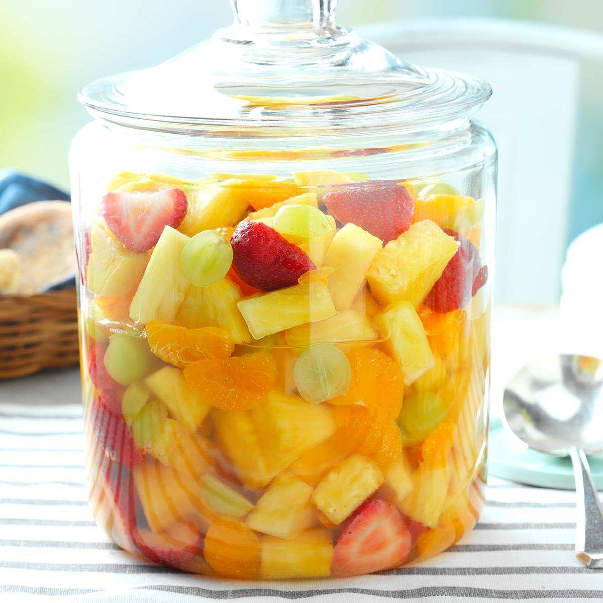 Sparkling Fruit Salad Recipe How To Make It Taste Of Home