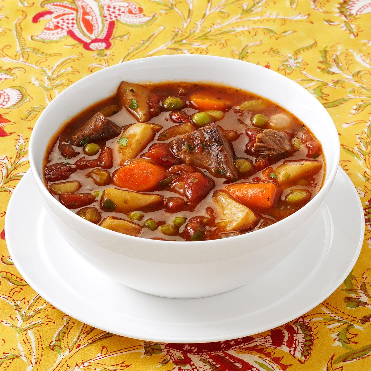 Stovetop Beef Stew Recipe How To Make It Taste Of Home
