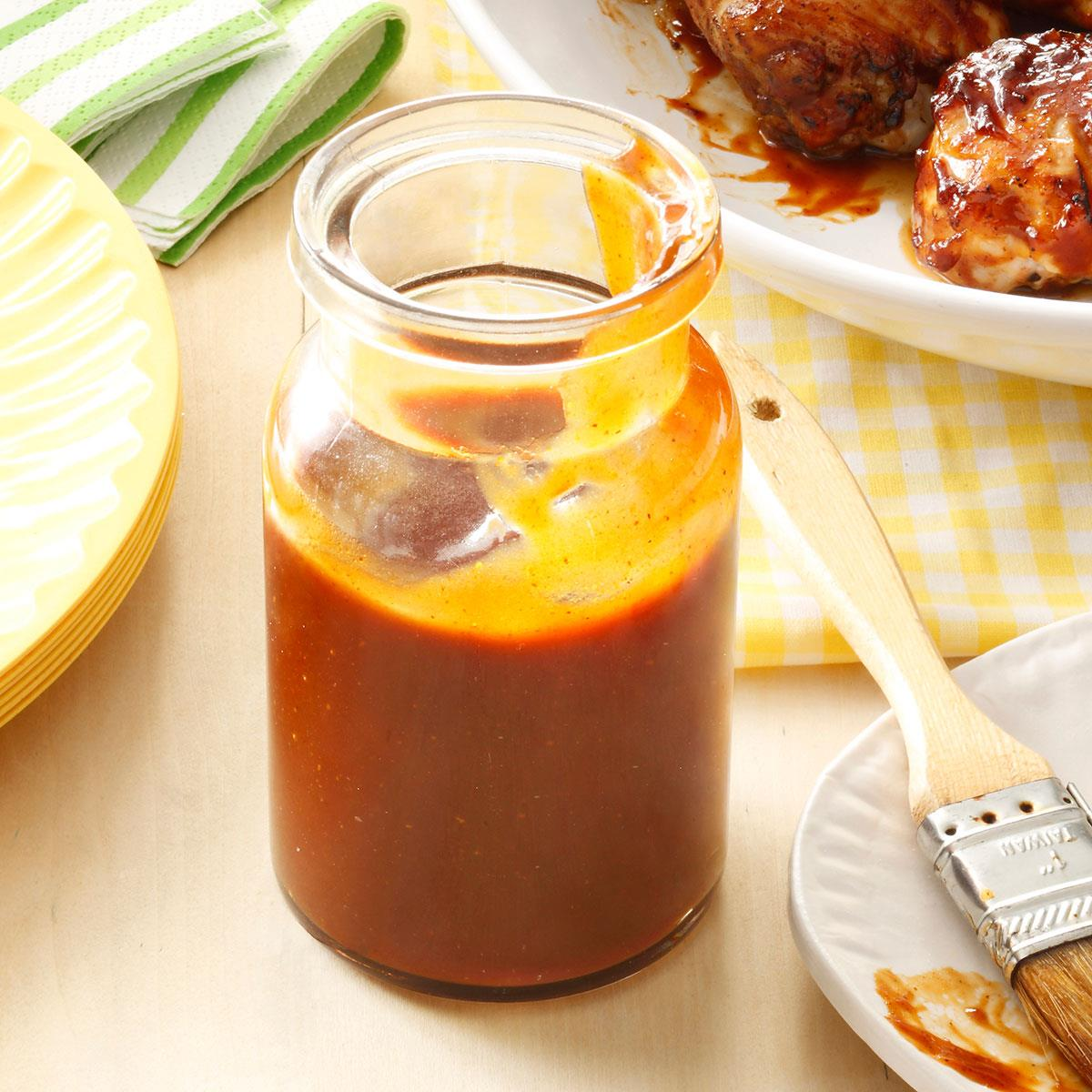 Sweet Spicy Barbecue Sauce Recipe Taste Of Home