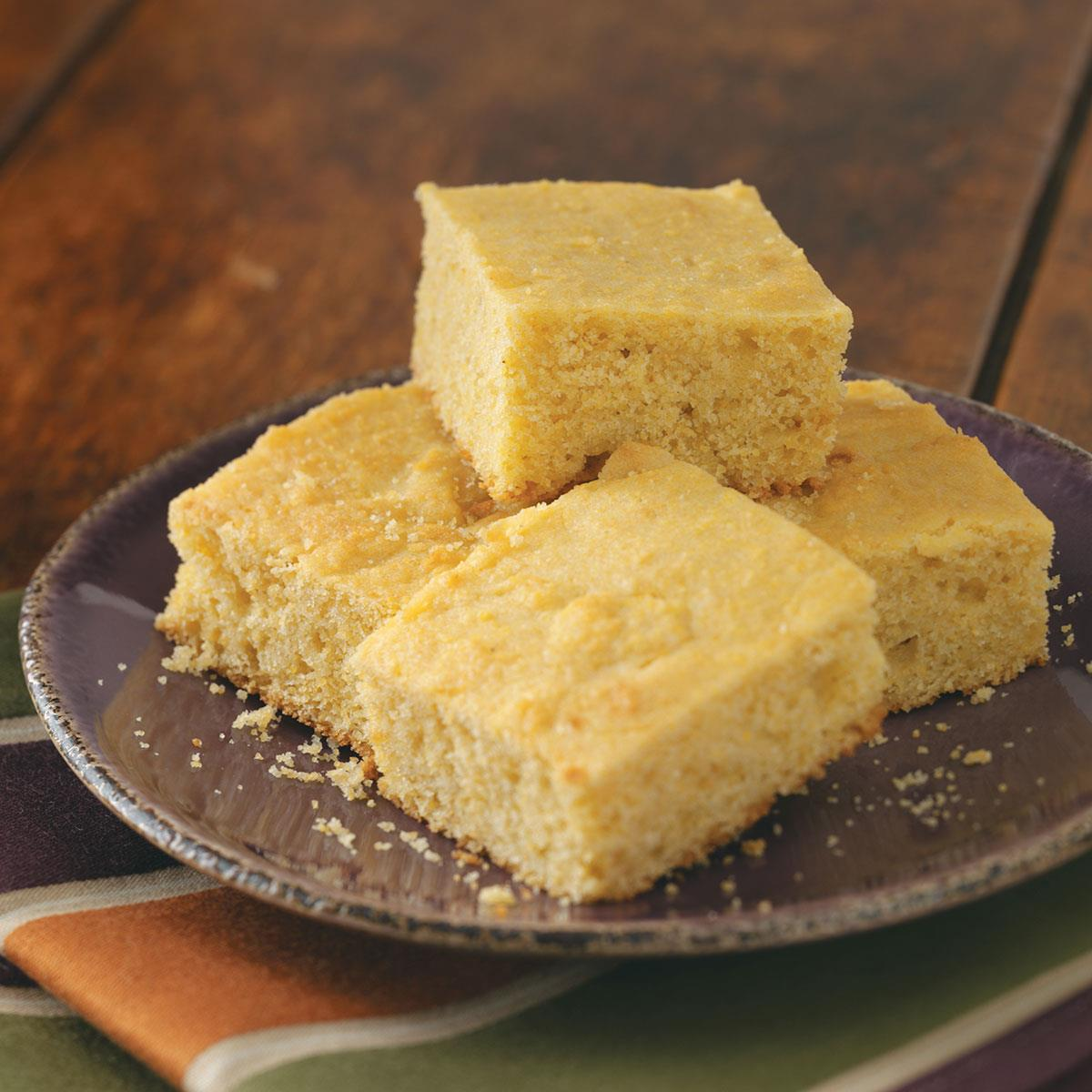 Sweet Cornbread Recipe How To Make It Taste Of Home