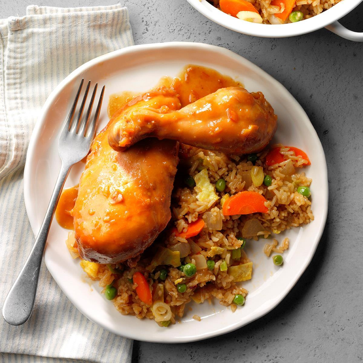 Sweet Orange Chicken Recipe How To Make It Taste Of Home