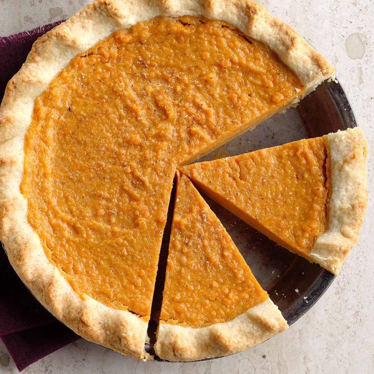 Sweet Potato Pie Recipe How To Make It Taste Of Home