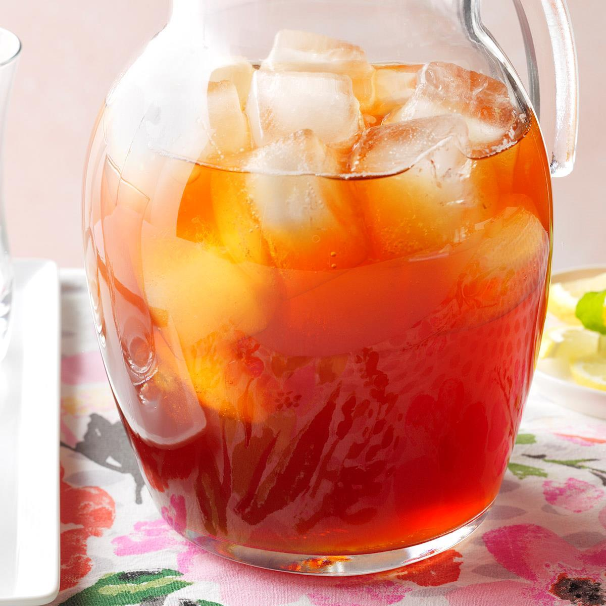 Sweet Tea Concentrate Recipe How To Make It Taste Of Home