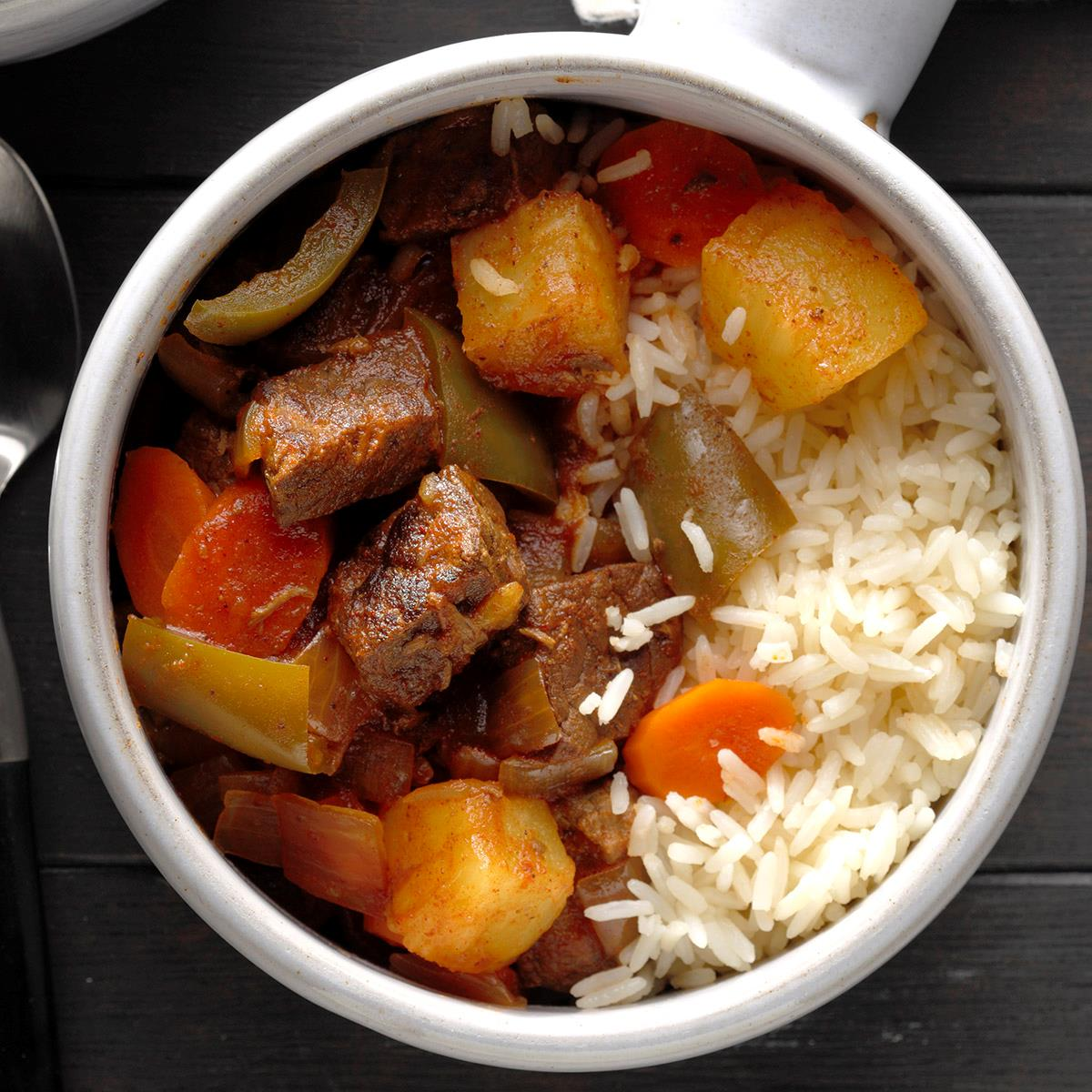 Sweet And Sour Beef Stew Recipe How To Make It Taste Of Home