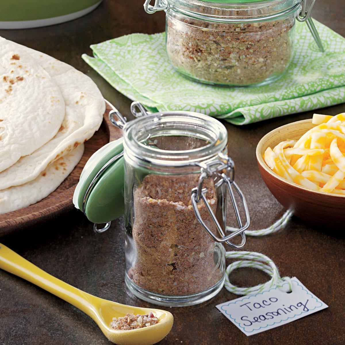 Taco Seasoning Mix Recipe How To Make It Taste Of Home