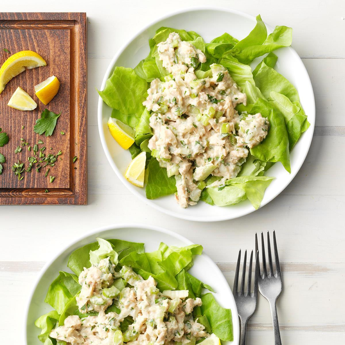 Tarragon Tuna Salad Recipe How To Make It Taste Of Home