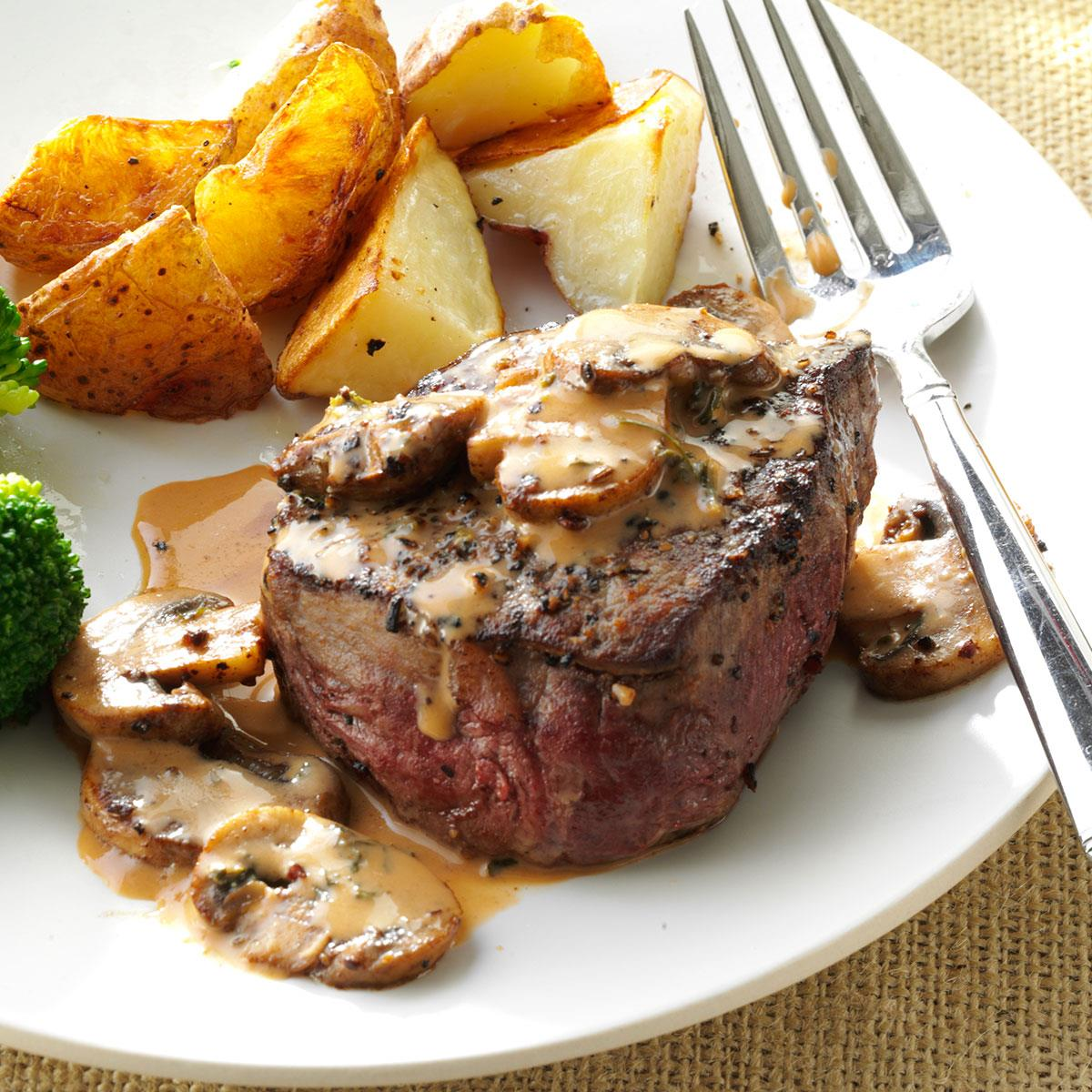Tenderloin Steak Diane Recipe How To Make It Taste Of Home