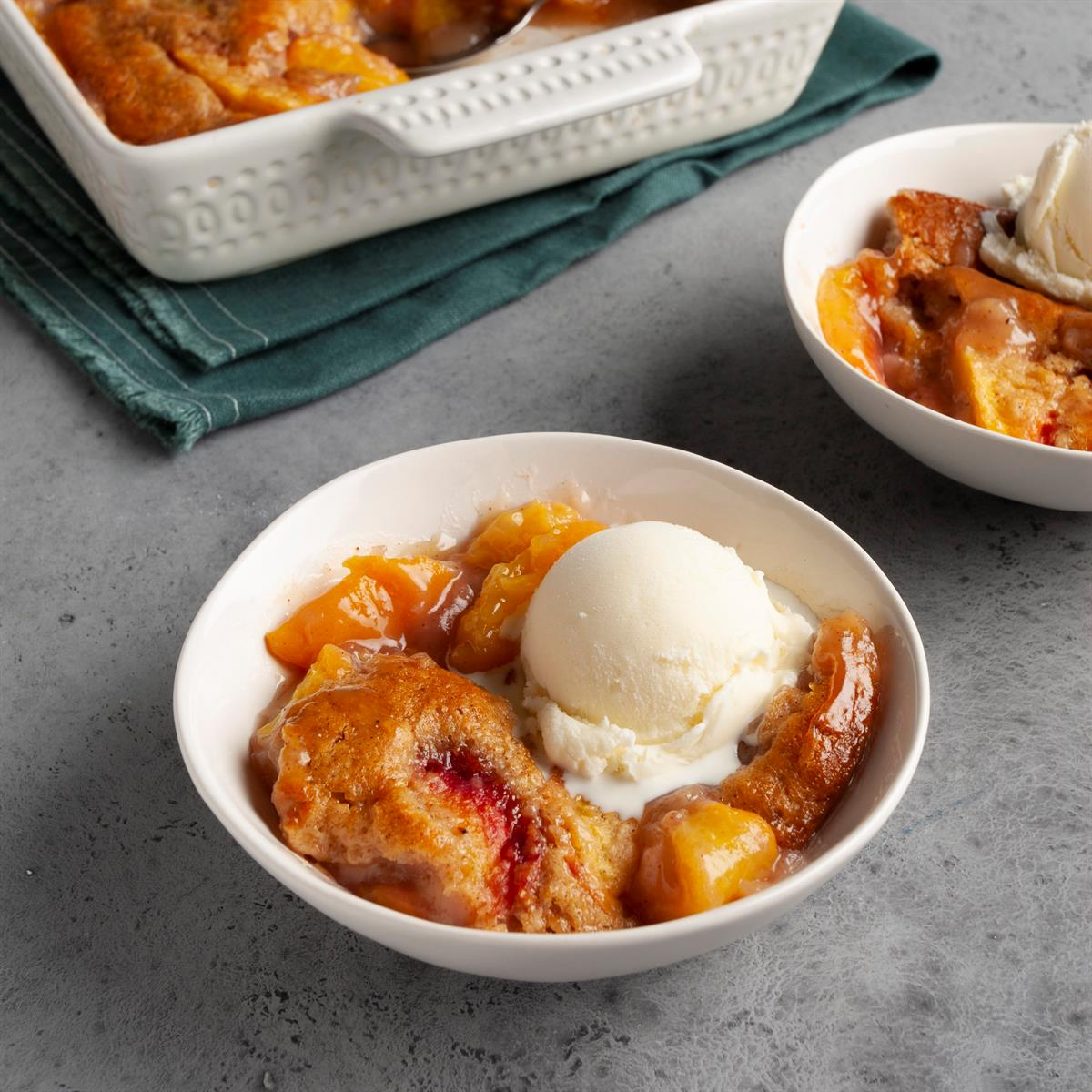 Tennessee Peach Pudding image