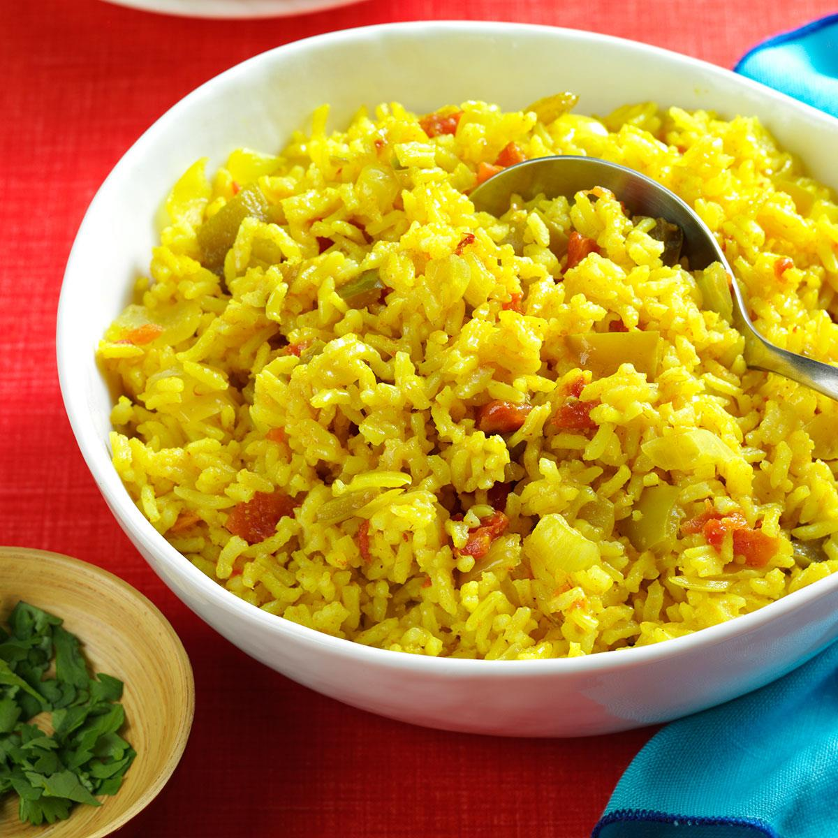 Texas Style Spanish Rice Recipe How To Make It Taste Of Home