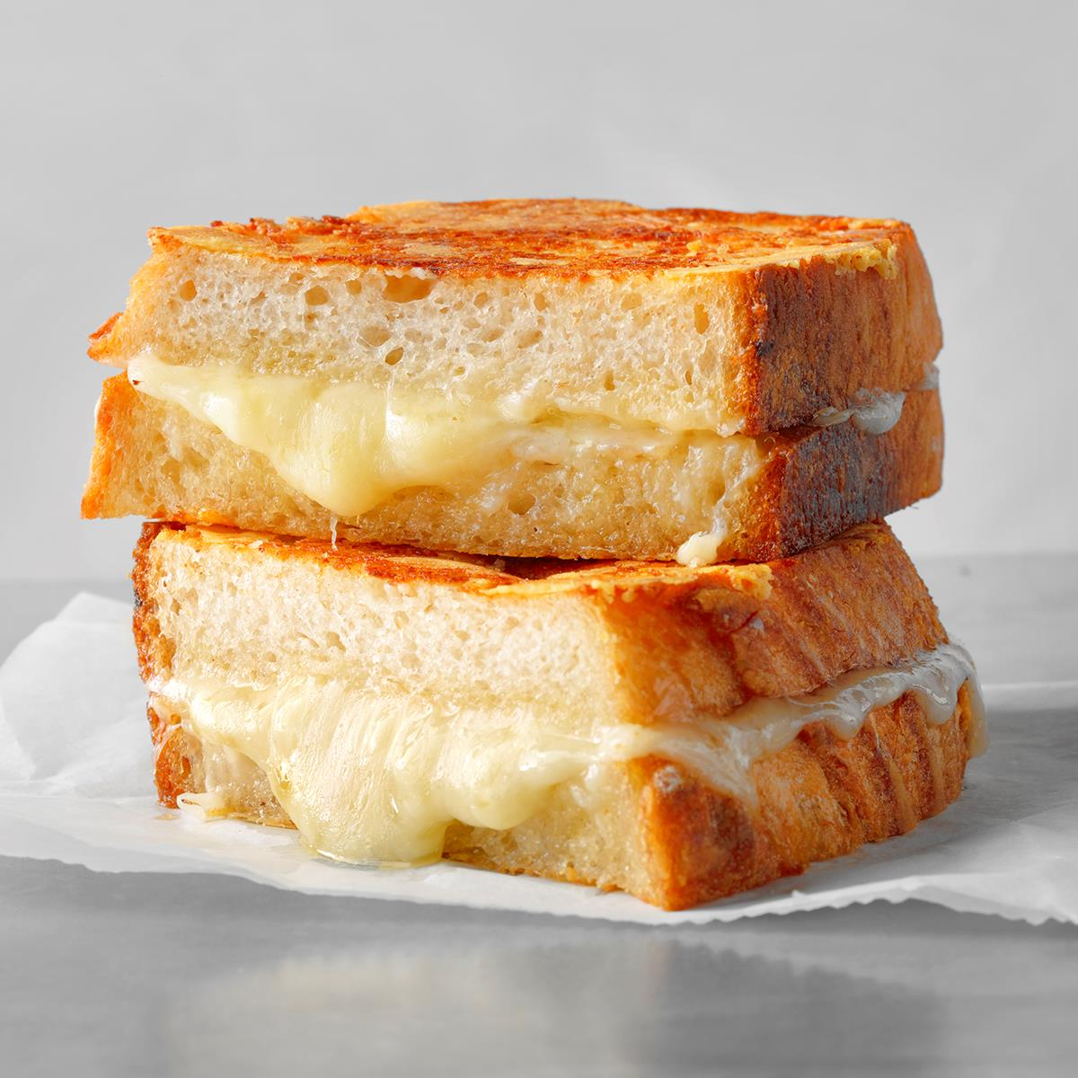 The Best Ever Grilled Cheese Sandwich Recipe How To Make It Taste Of Home