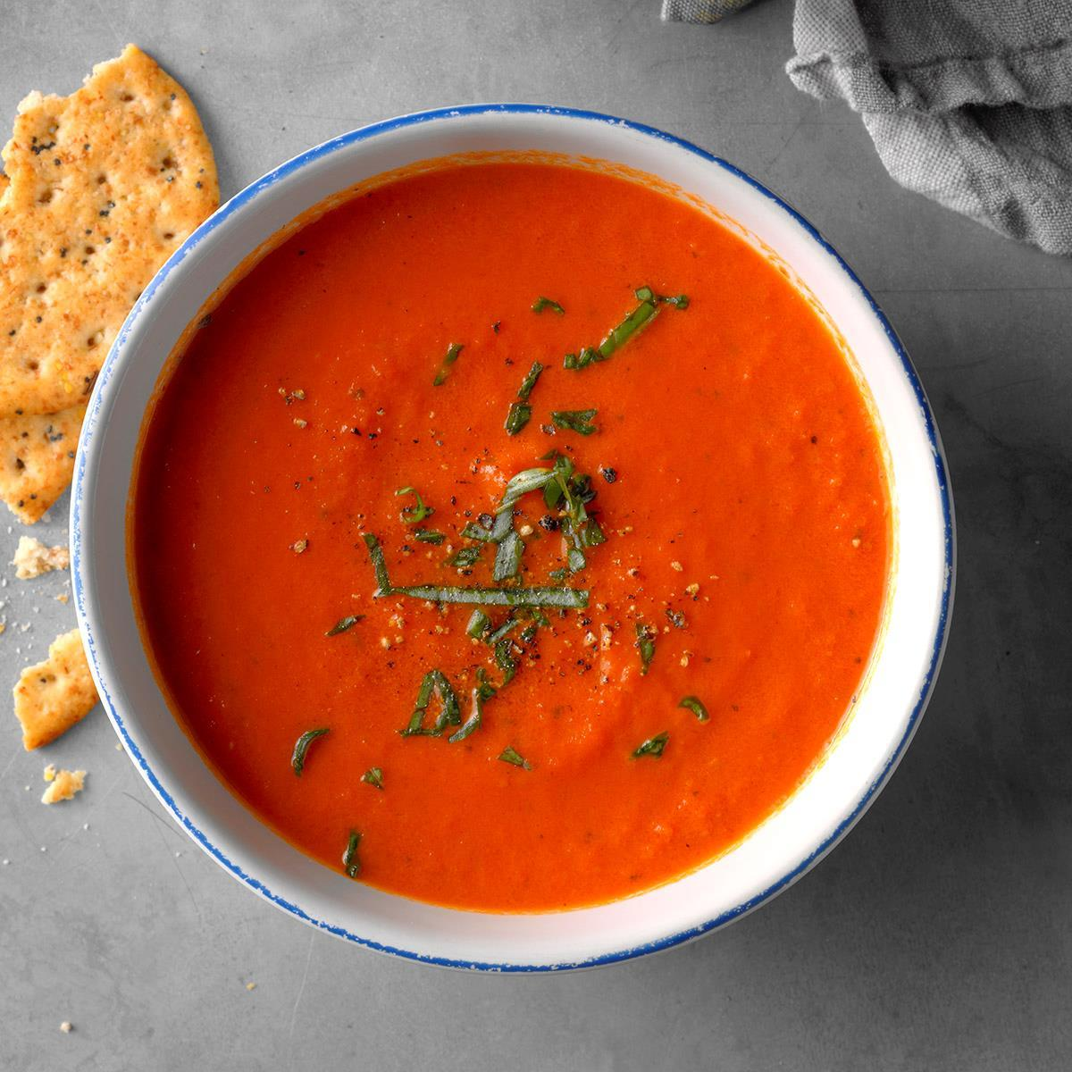 The Best Ever Tomato Soup Recipe How To Make It Taste Of Home