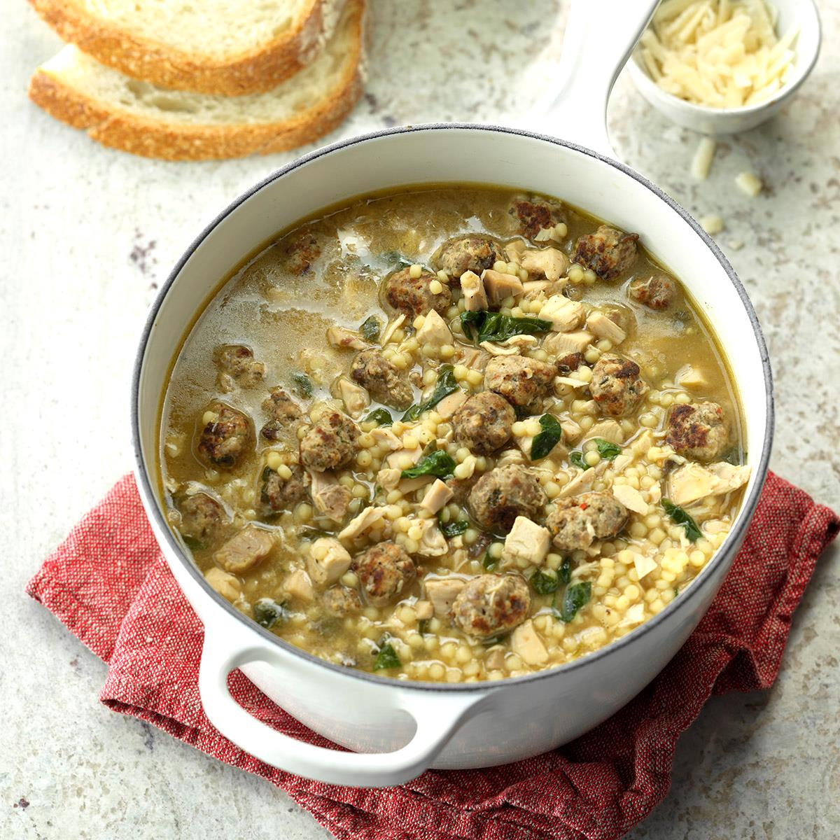 Traditional Italian Wedding Soup Recipe How To Make It Taste Of Home