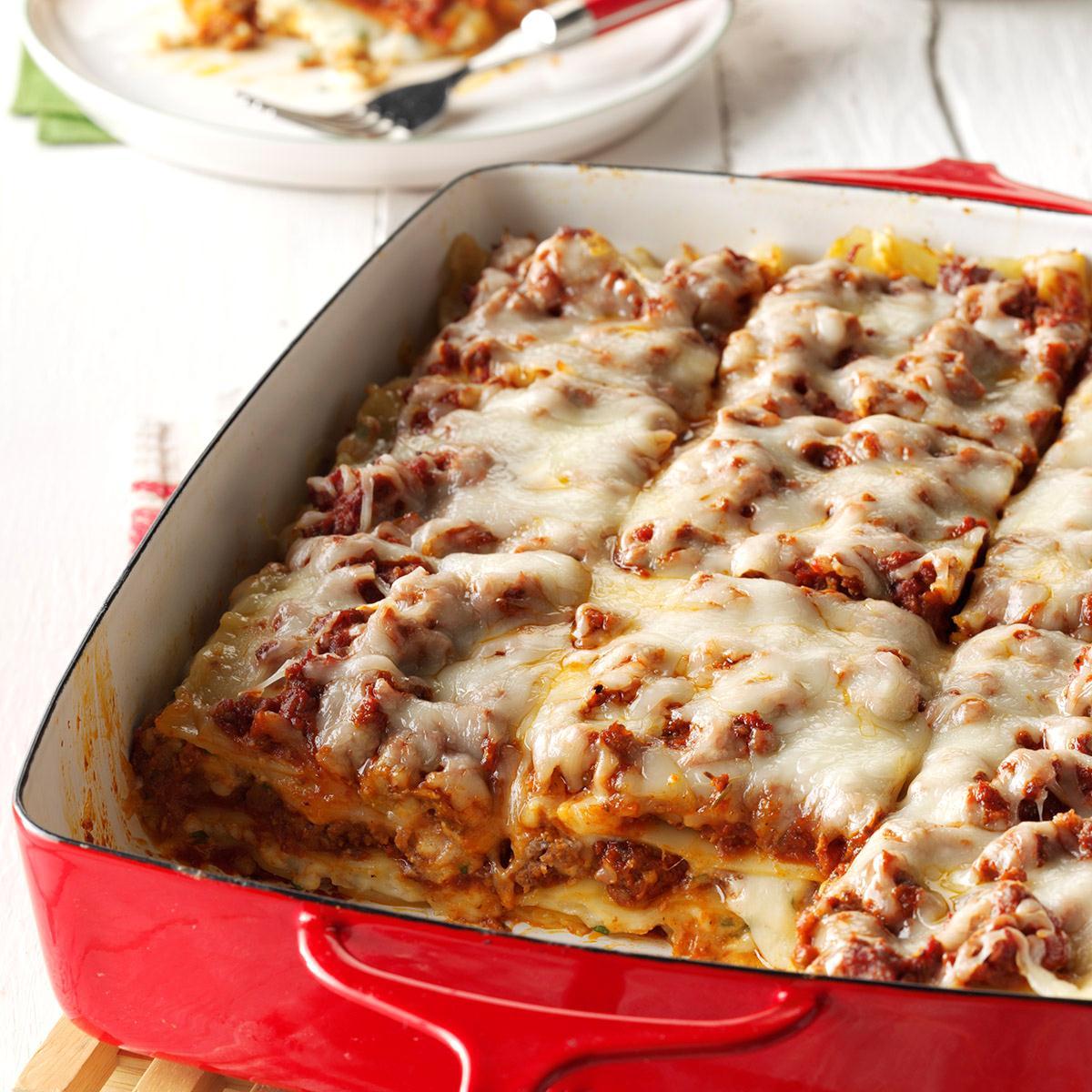 Traditional Lasagna_image