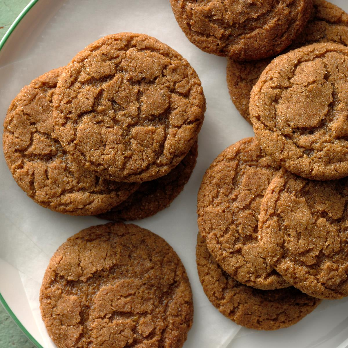 Triple Ginger Gingersnaps Recipe How To Make It Taste Of Home