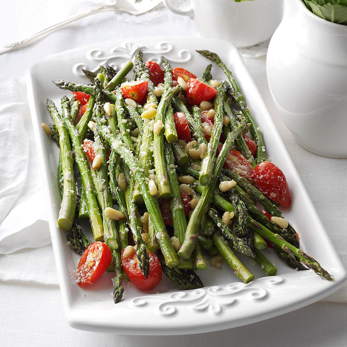 Tuscan-Style Roasted Asparagus image