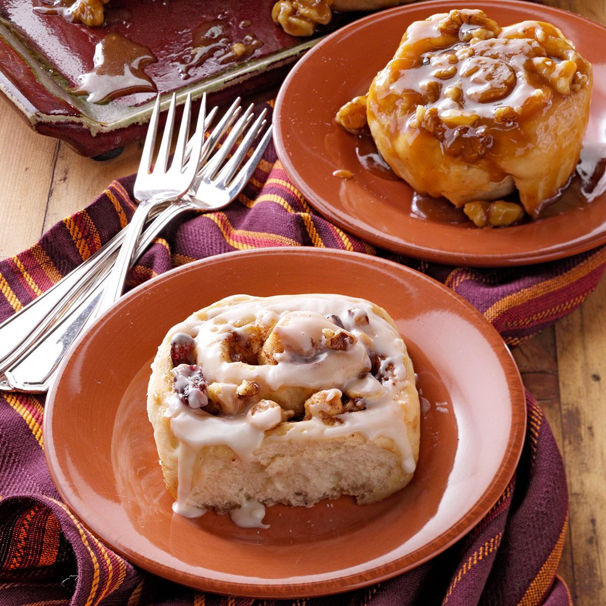 Walnut-Caramel Sticky Buns