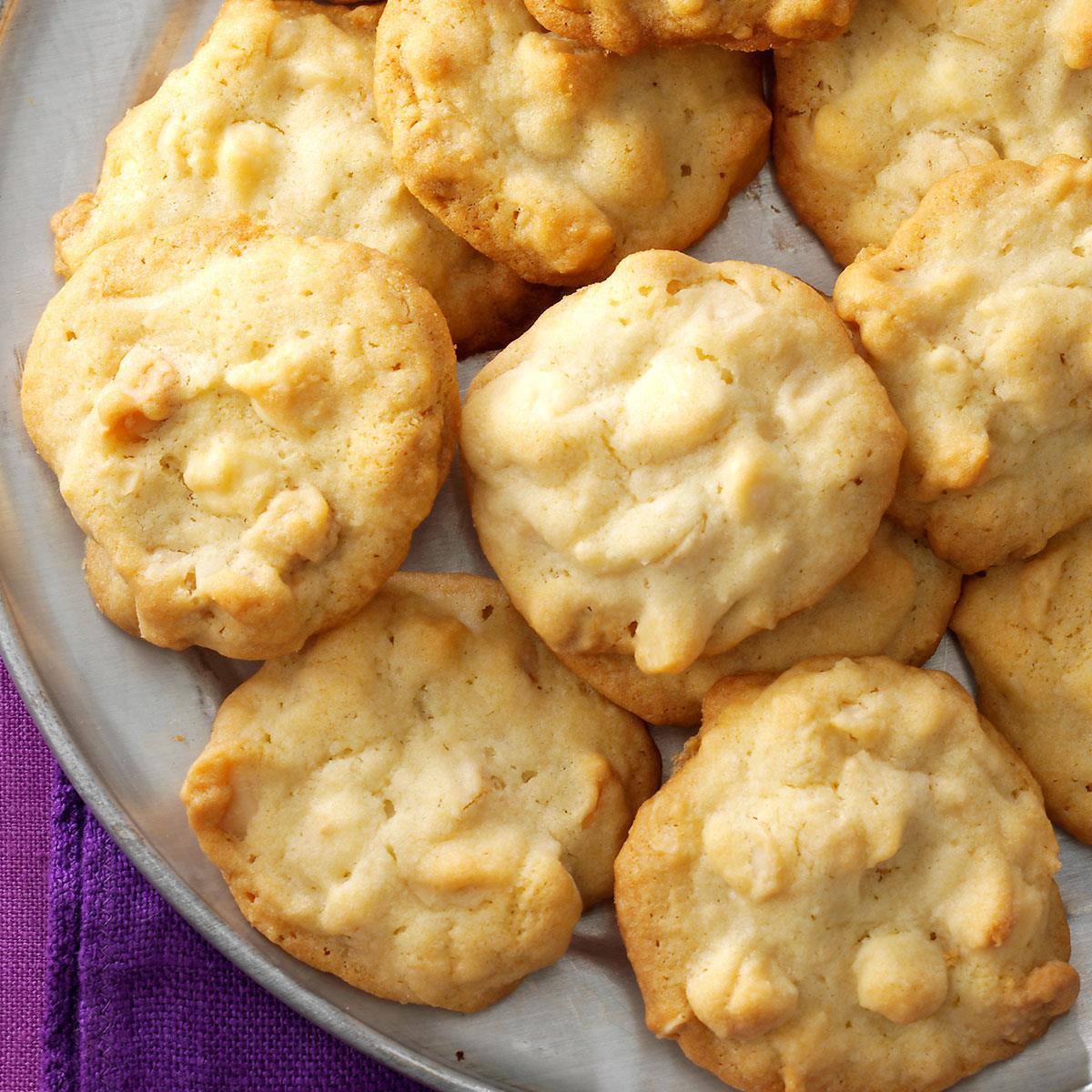 White Chocolate Macadamia Cookies Recipe How To Make It Taste Of Home