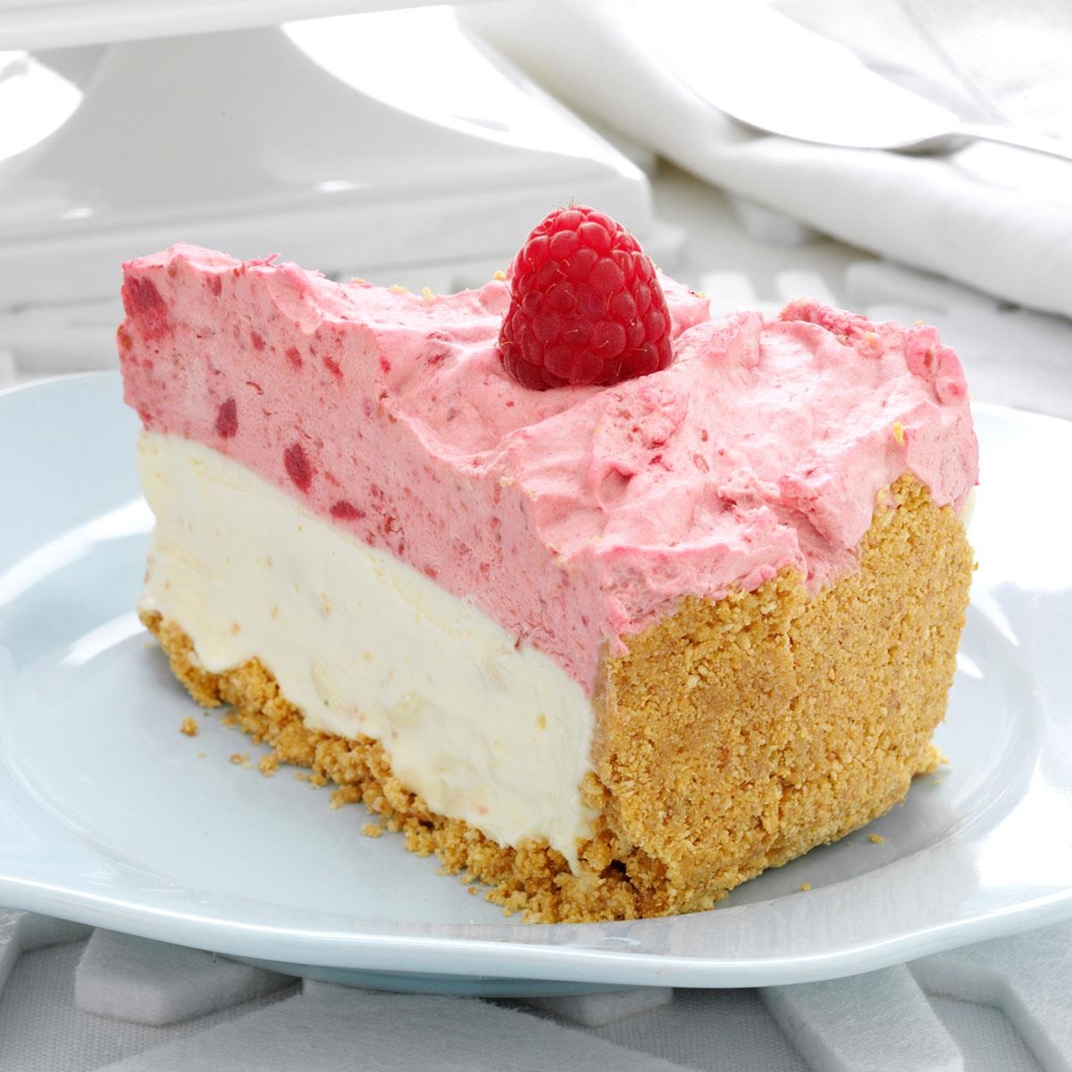 White Chocolate Raspberry Mousse Cheesecake Recipe How To Make It Taste Of Home